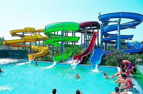 Parco acquatico acquafantasy a lesina marina - Dimensioni piscina olimpionica ...