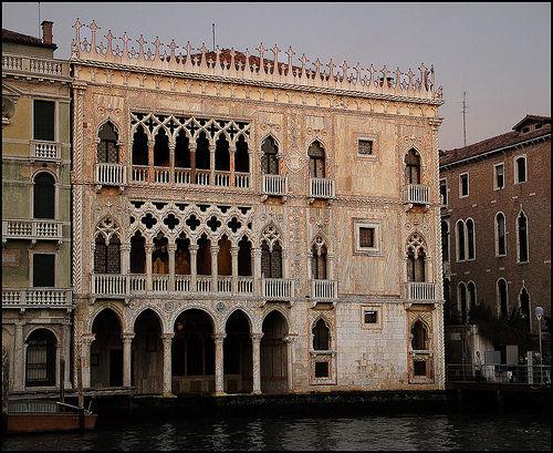Ca 39 d 39 oro a venezia - Finestre circolari delle chiese gotiche ...