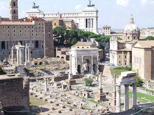 Il Matrimonio Romano Antico : Il foro romano a roma