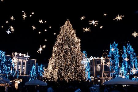 Foto Mercatini Di Natale Lubiana.Mercatino Di Natale Di Lubiana